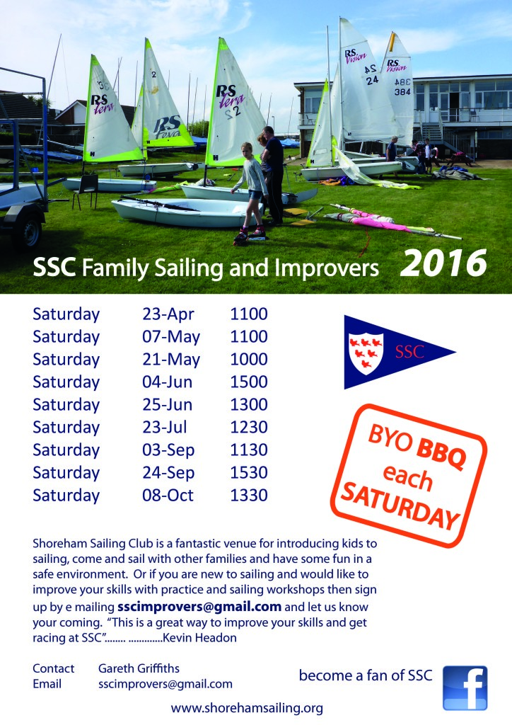 2016 SSC Family Sailing Poster