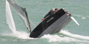 Alex Warren at Merlin Rocket Salcombe week!